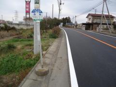 「赤坂(前橋市)」バス停留所