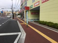 「岡南小前」バス停留所