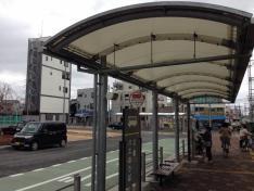 「京阪牧野駅前」バス停留所
