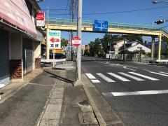 「旭ヶ丘」バス停留所