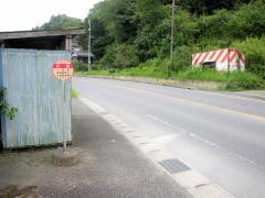 「川音」バス停留所