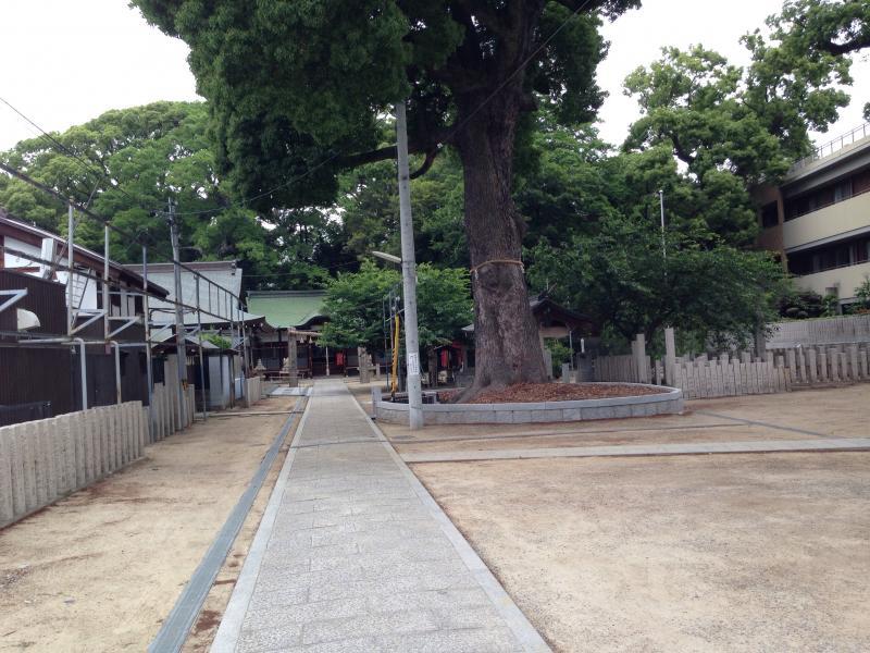 阿麻美許曽神社(大阪市東住吉区...
