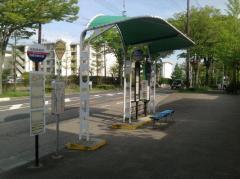 「洛西高校前」バス停留所