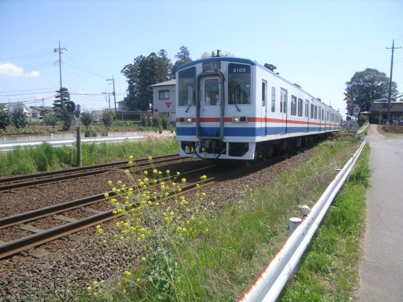 関東鉄道常総線「新取手駅」近く