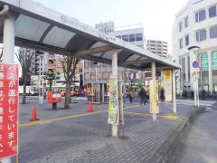 「本川越駅」バス停留所