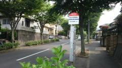 「弥生が丘団地第三」バス停留所