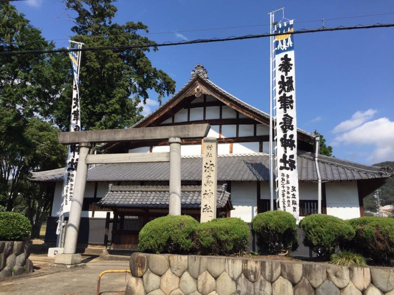 おがせ池の近くの歌舞伎座!