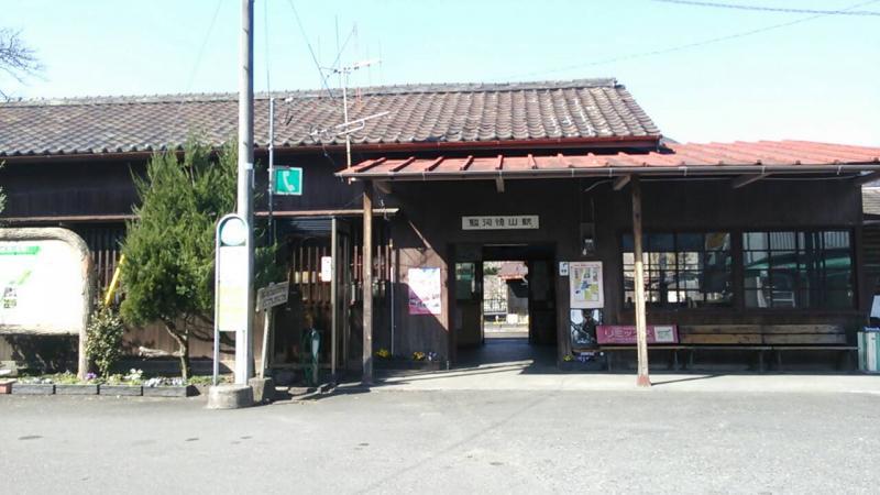 駿河徳山駅(榛原郡川根本町)の...