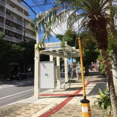 「おもろまち四丁目」バス停留所