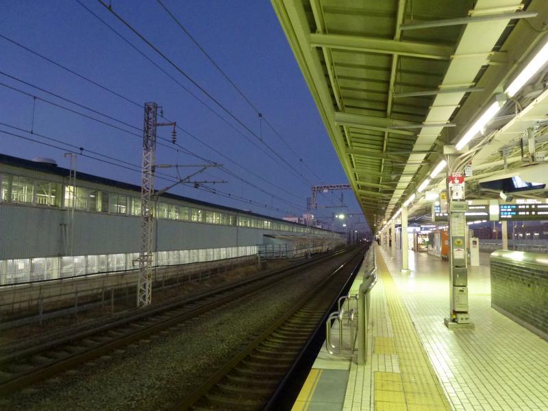 三島駅新幹線ホーム