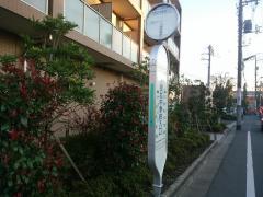 大泉北中学校入口