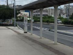 「古島駅前」バス停留所