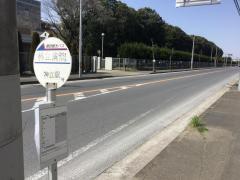 「神立病院」バス停留所