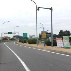 「大垣IC」バス停留所