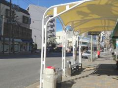 「山階校前」バス停留所
