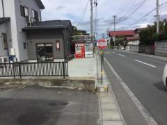 「神明神社前」バス停留所