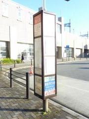 「八田駅」バス停留所