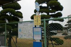 「金ケ崎東口」バス停留所