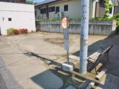 「姉崎新田」バス停留所