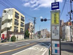 「松が丘交番前」バス停留所