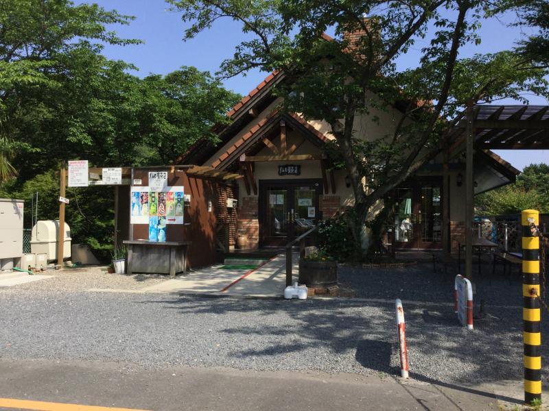 ダムの喫茶店