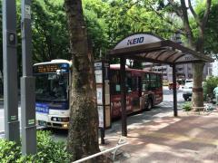 「十二社池の下」バス停留所