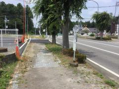 「おおつ野台」バス停留所