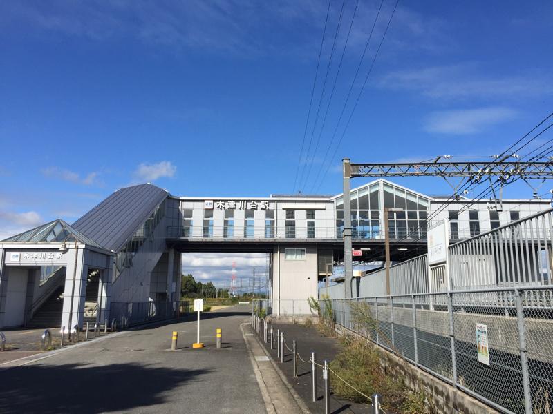 近鉄木津川台駅です