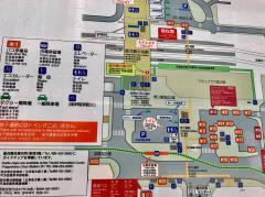 「中央駅西口」バス停留所