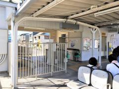 「竹鼻」バス停留所