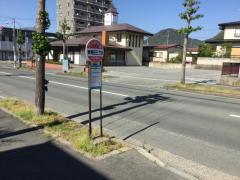 「東青田三丁目」バス停留所