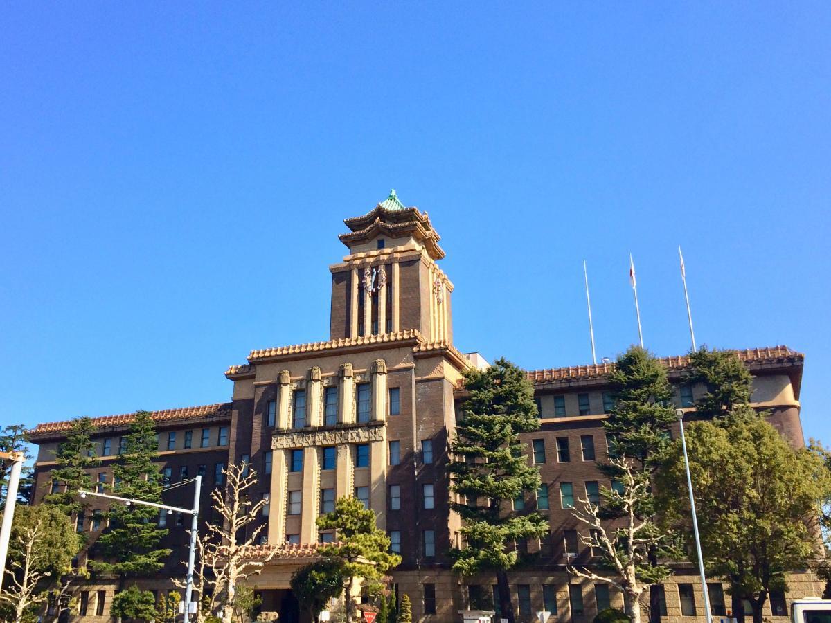 名古屋市役所で撮影しました