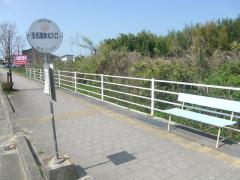 「玉名温泉北入口」バス停留所