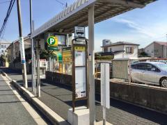 「鶴沢町」バス停留所