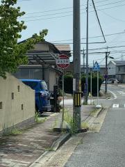 「かえで台」バス停留所