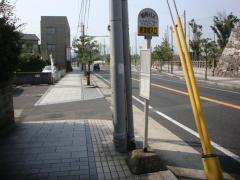 「唐津城入口」バス停留所