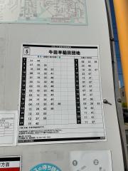 「神田橋」バス停留所