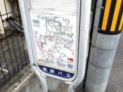 「錦通住宅」バス停留所