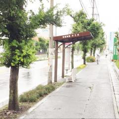 「石垣幸橋」バス停留所