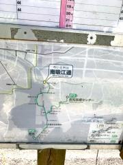 「南吸江通」バス停留所