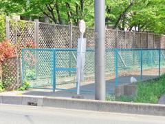 「高木団地」バス停留所