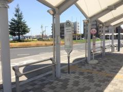 「浦和美園駅」バス停留所
