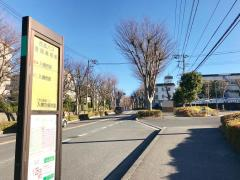「豊岡高校前」バス停留所