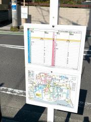 「三ツ石(前浜・後免方面)」バス停留所