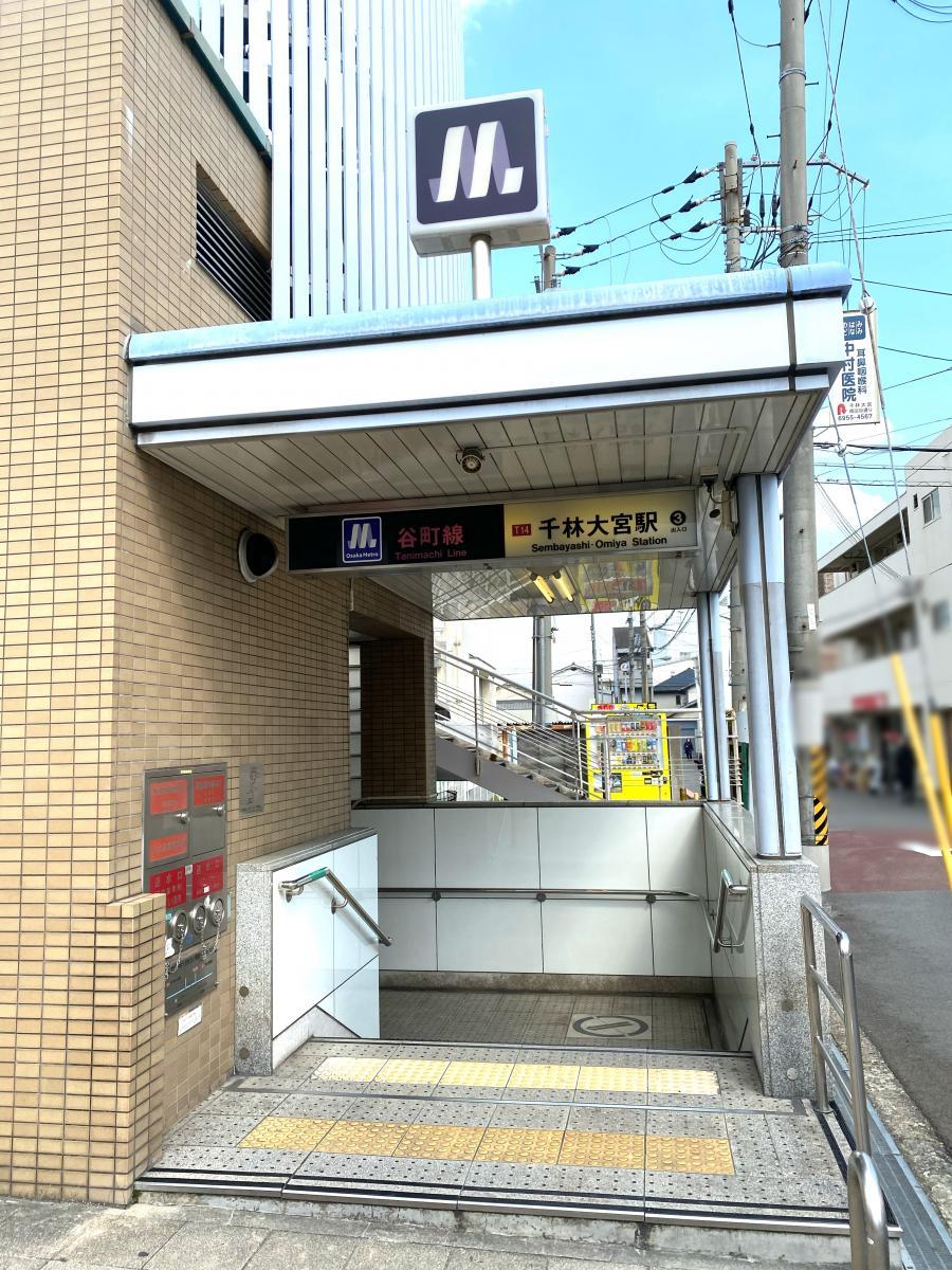 ユキサキナビ】関目高殿駅(大阪市旭区)の路線図 OsakaMetro谷町線