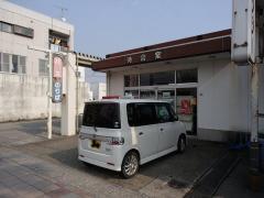 「油津駅前バスセンター」バス停留所