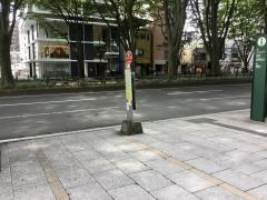 「メディアテーク前」バス停留所