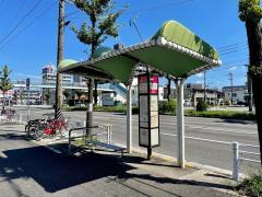 「大江駅」バス停留所