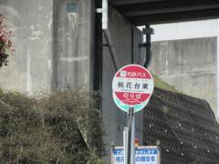 「桃花台東」バス停留所