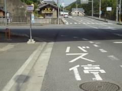 「馬佐口」バス停留所